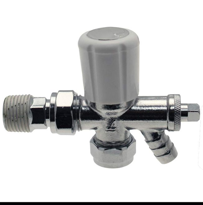 15mm Angled c/w Drain off Trent Plus Valves BS276-10