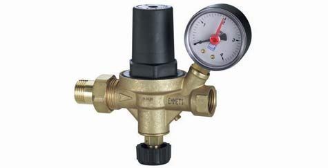 "1/2"" Automatic Filling Valve c/w Gauge"