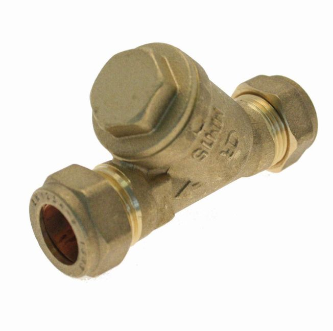 15mm - DZR Y Type Strainers