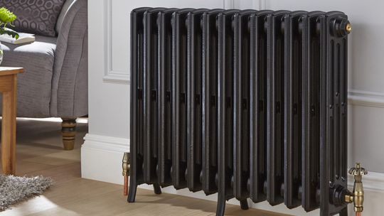 radiator in a living room