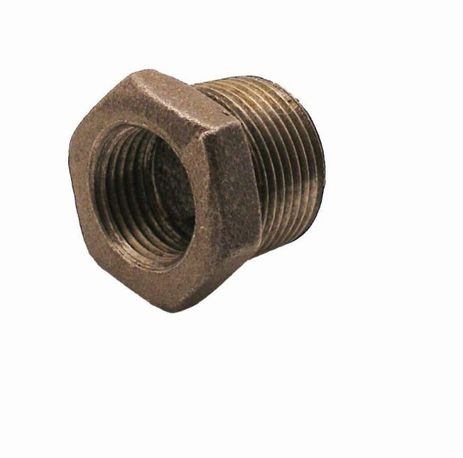 "1 1/4"" x 3/4"" Hexagon Bush M x F"
