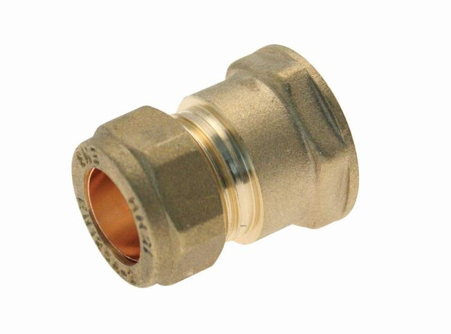 "35mm x 1 1/4"" Coupler C x FI - Brass"