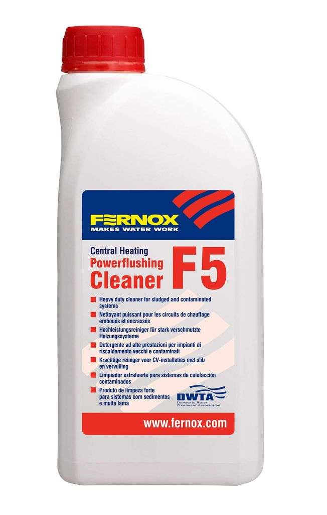 1 litre Powerflushing Cleaner F5